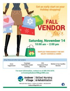 Andover - Vendor Fair